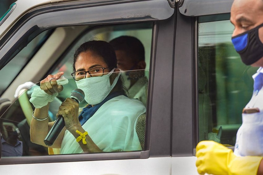 As COVID-19 Testing In Bengal Remains Low, Battle Between Mamata And Centre Continues