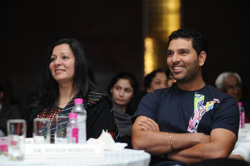 On Mother's Day, Yuvraj Singh Has A Special Message, Mum Shabnam Responds Beautifully Too