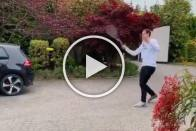Andy Murray Comically Lobs Ball Into Neighbour's Garden On Rusty Return - VIDEO