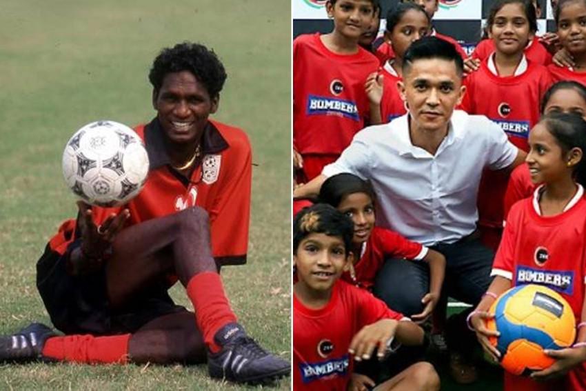 Legendary IM Vijayan Asks Young Footballers To Idolise Sunil Chhetri, Follow His Work Ethic