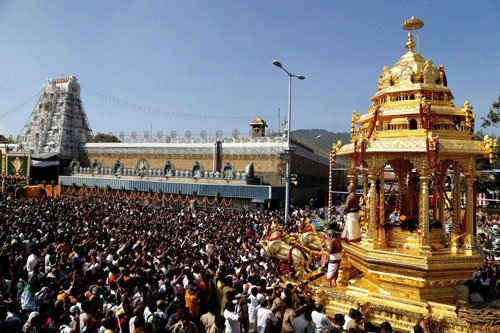Lord Balaji, The Reliever Of All Problems, Is In Financial Trouble