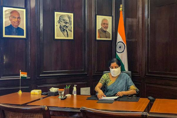 Finance Minister Nirmala Sitharaman To Address Media At 4 PM On Economic Package