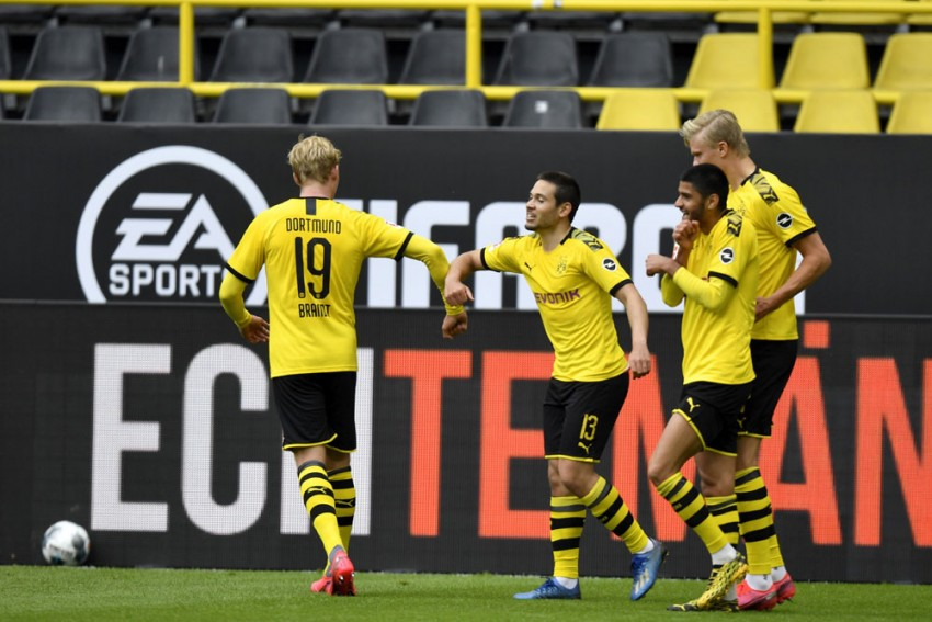 It's TV At Home As German Football Returns With 'Ghost Games'