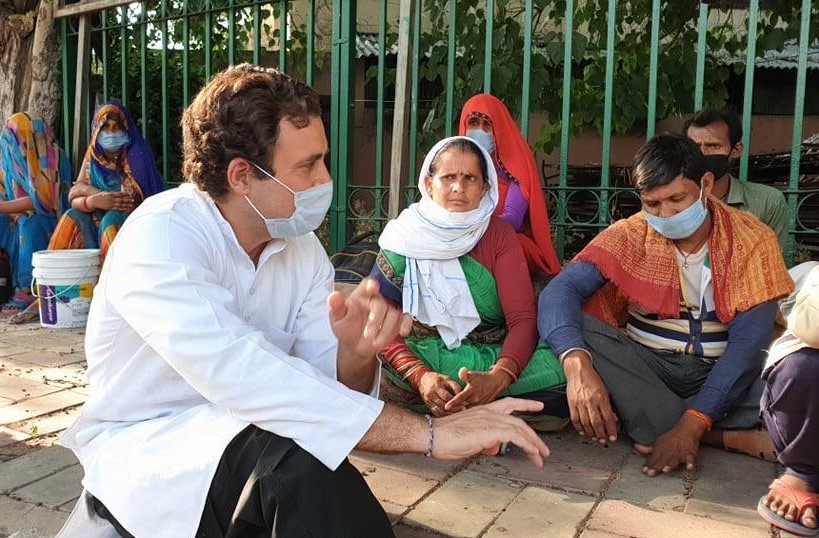 Detained Briefly By Delhi Police After Meeting Rahul Gandhi, Migrants Get Cong Help
