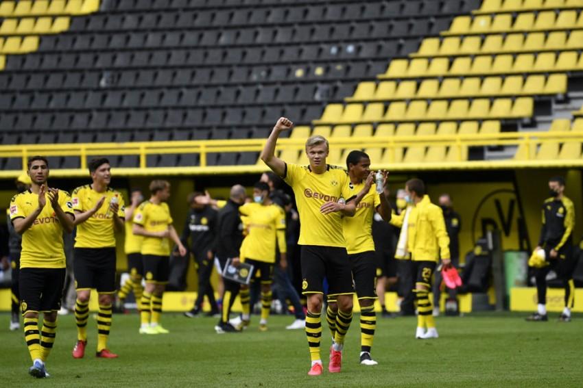 Borussia Dortmund 4-0 Schalke: Erling Haaland Picks Up Where He Left Of On Bundesliga Return