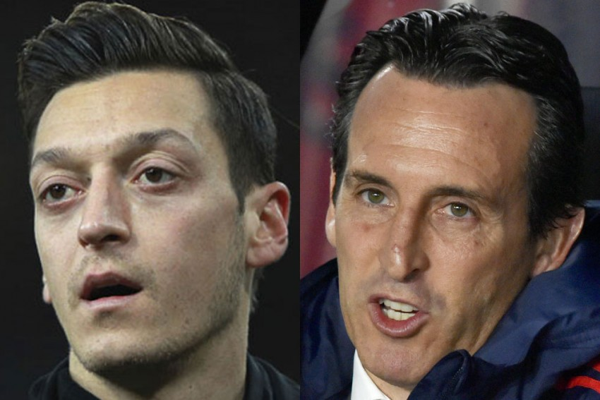 Mesut Ozil Needs To Look At Himself - Unai Emery Opens Up On His Relationship With German Star At Arsenal