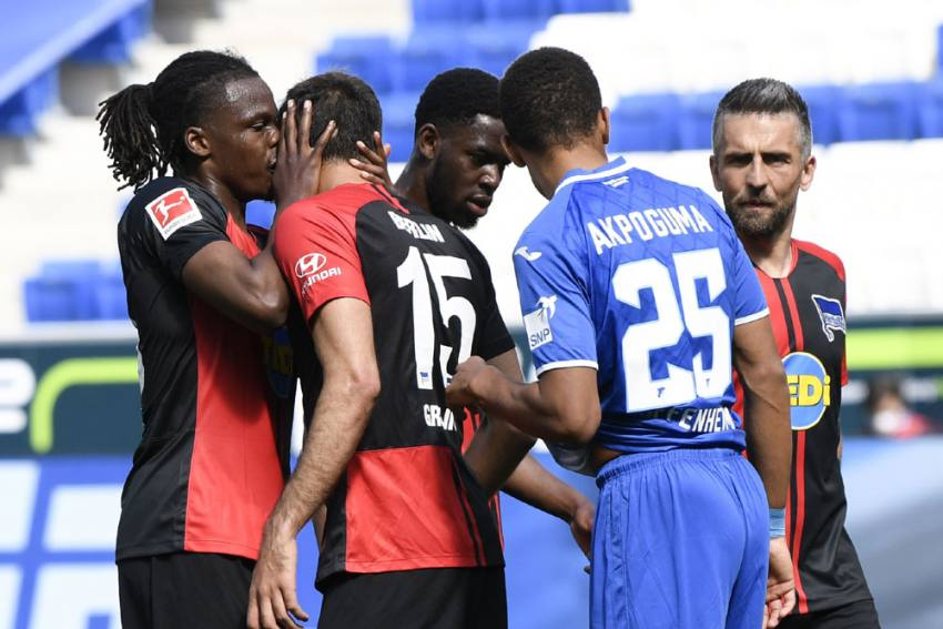 Calls For Bundesliga To 'Tighten Up' Hygiene After Hugs, Kisses