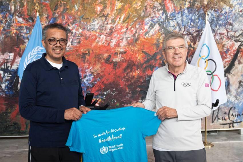 Amid Coronavirus Crisis, WHO And IOC Team Up To Improve Health Through Sport