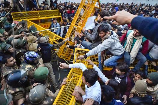 Jamia Student Arrested In Connection With Violence During Anti-CAA Protest