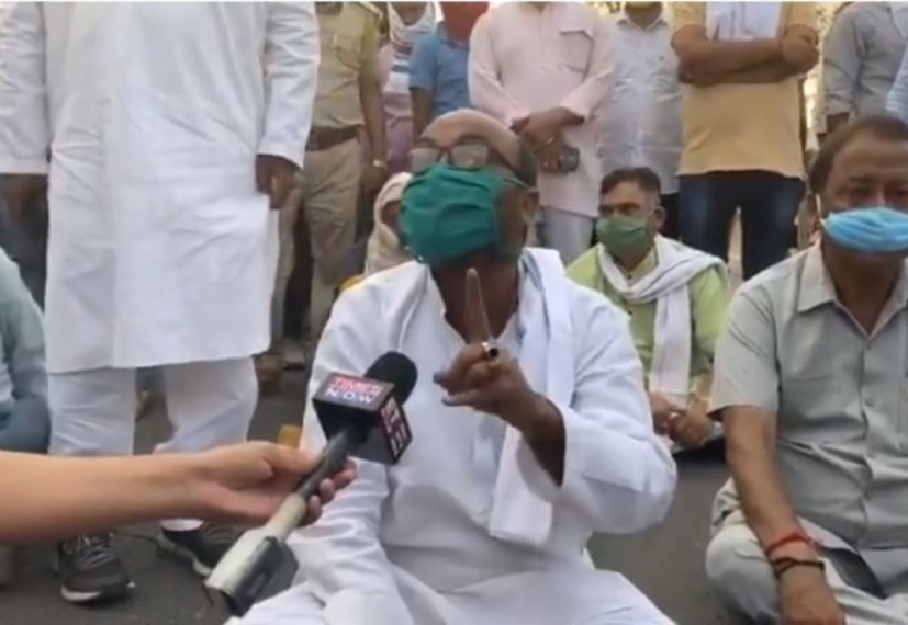 UP Congress Chief, Others Arrested Following Protest Over Bus Issue