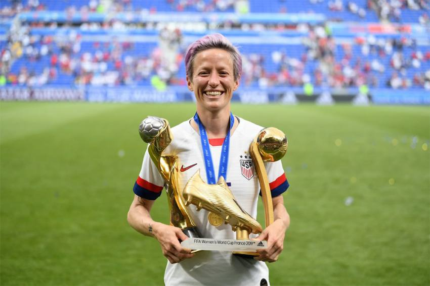 US World Cup Star Megan Rapinoe Blasts President Donald Trump, Doesn't Rule Out Run For Office
