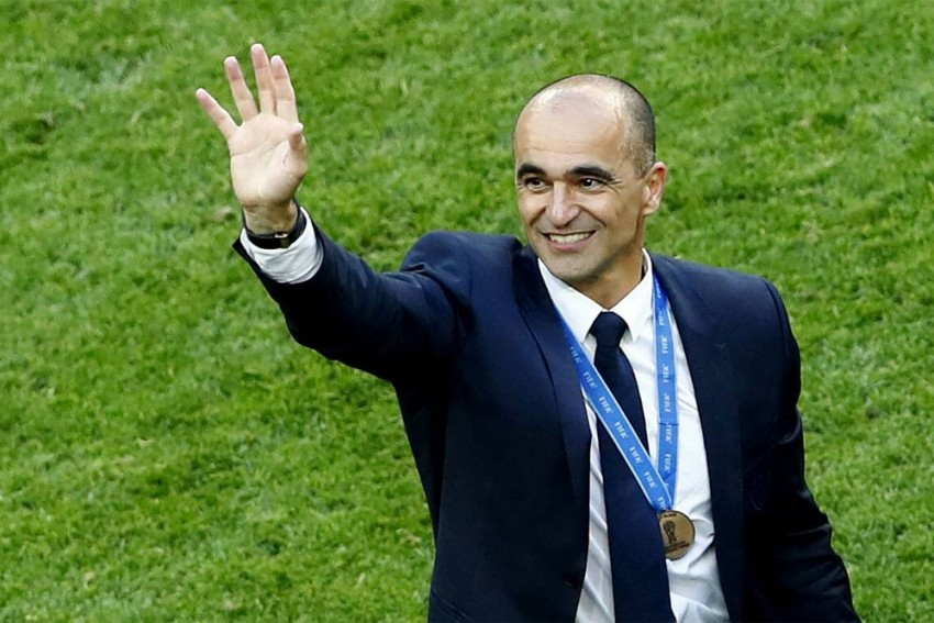 Roberto Martinez extends Belgium contract until 2022