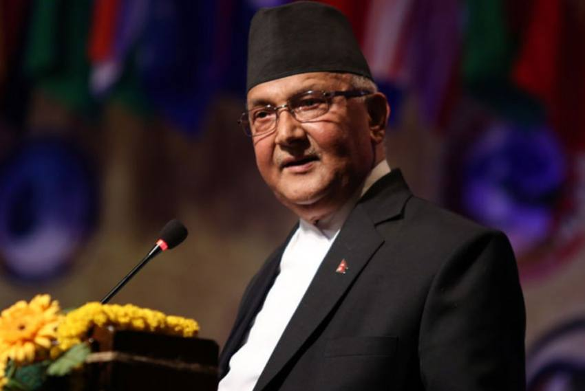 Nepal PM KP Oli Defends Country's New Map Claiming Parts Of Indian Territory
