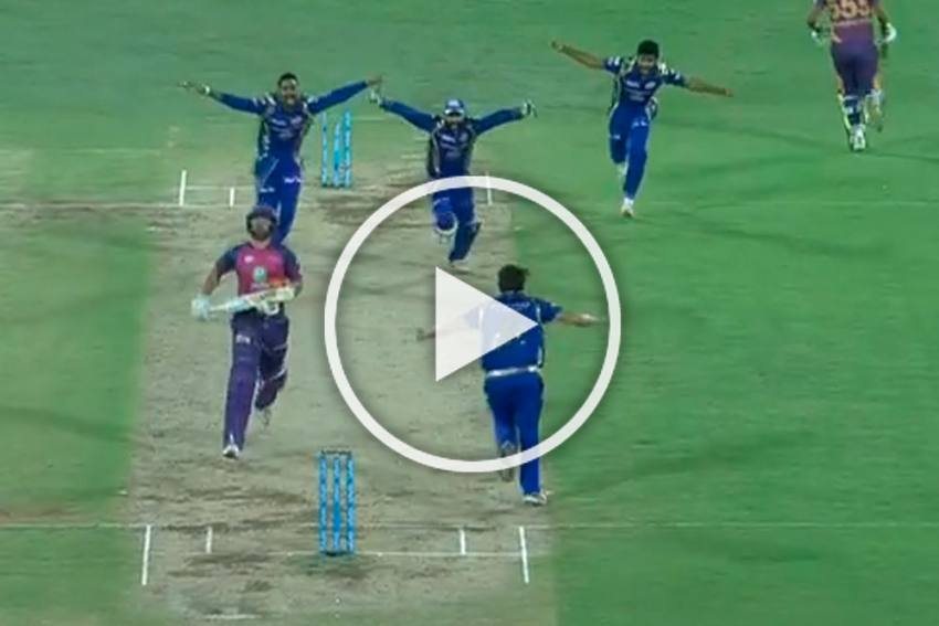 When Mitchell Johnson Produced A Heart-Stopping, IPL-Wining Over To Gift Mumbai Indians Third Title - WATCH
