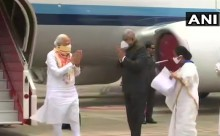 PM Modi Conducts Aerial Survey Of Cyclone Amphan-Hit Areas In Bengal