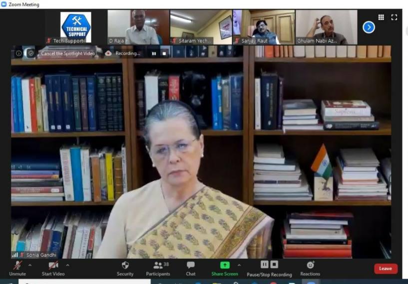 Economic Package 'Cruel Joke On Country', Says Sonia Gandhi At Opposition Meet