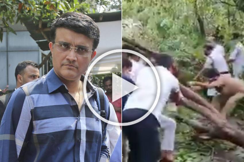 Cyclone Amphan: Kolkata Police Makes Sourav Ganguly 'So Proud,' BCCI Boss Shares Viral Video - WATCH