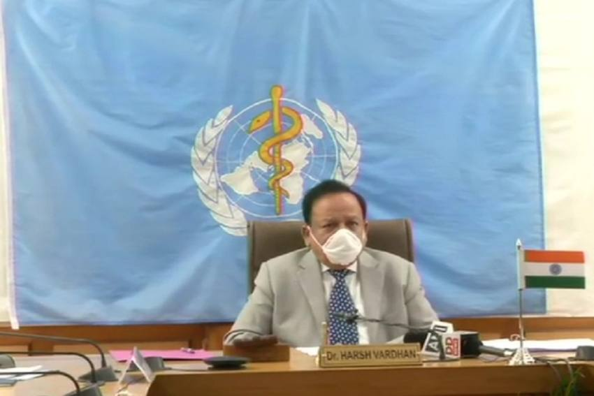 Health Minister Harsh Vardhan Takes Charge As Chairman Of WHO Executive Board
