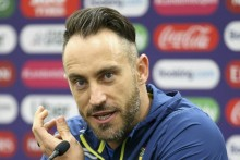 Used To Taking Bit Of Spit On Fingers Before Catching The Ball: Faf Du Plessis