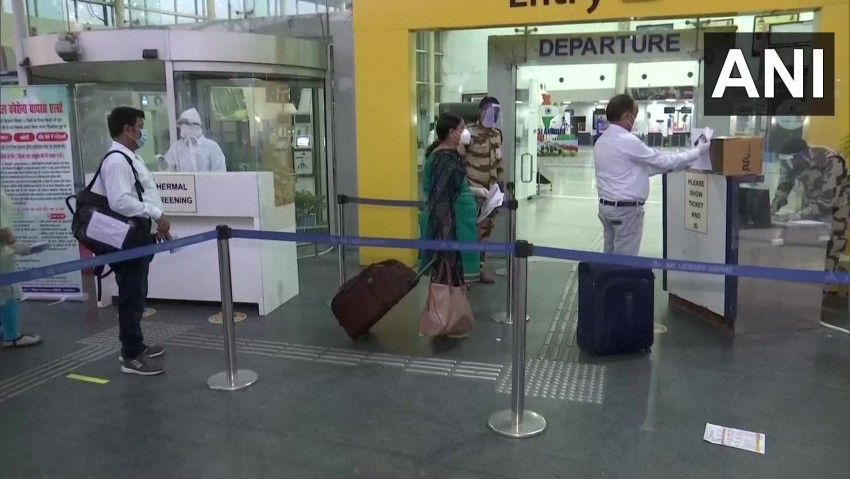 Domestic Flights Resume After Two Months Of Lockdown