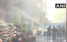 Twin Fire Break Out In Delhi; Shoe Factory, 250 Shanties Gutted