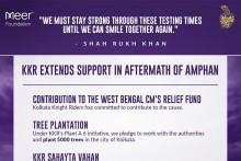 Kolkata Knight Riders Extend Support In Aftermath Of Cyclone Amphan