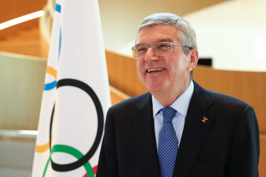 Olympic Chief Thomas Bach Consults With IOC Members Over Coronavirus Fallout