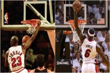 Michael Jordan Vs LeBron James: How The NBA Greats' Playoff Numbers Compare