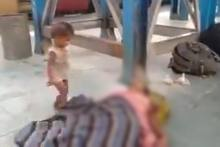 Migrant Crisis: Child Tries To Wake Dead Mother At Bihar Railway Station