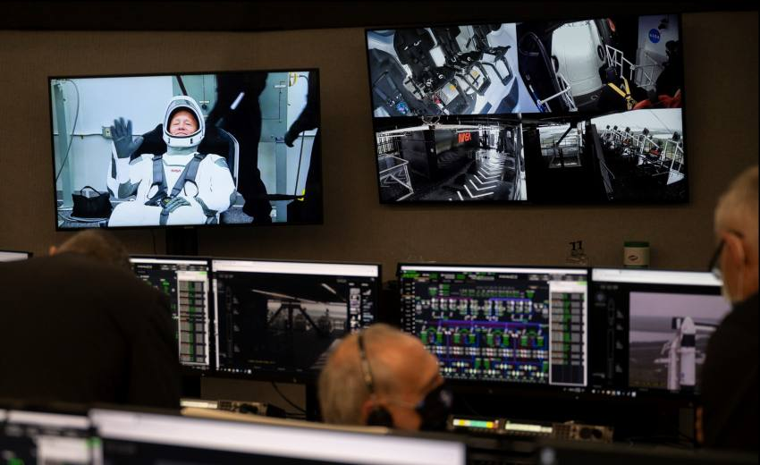 NASA, SpaceX Postpone Historic Astronauts Launch Due To 'Weather Condition'
