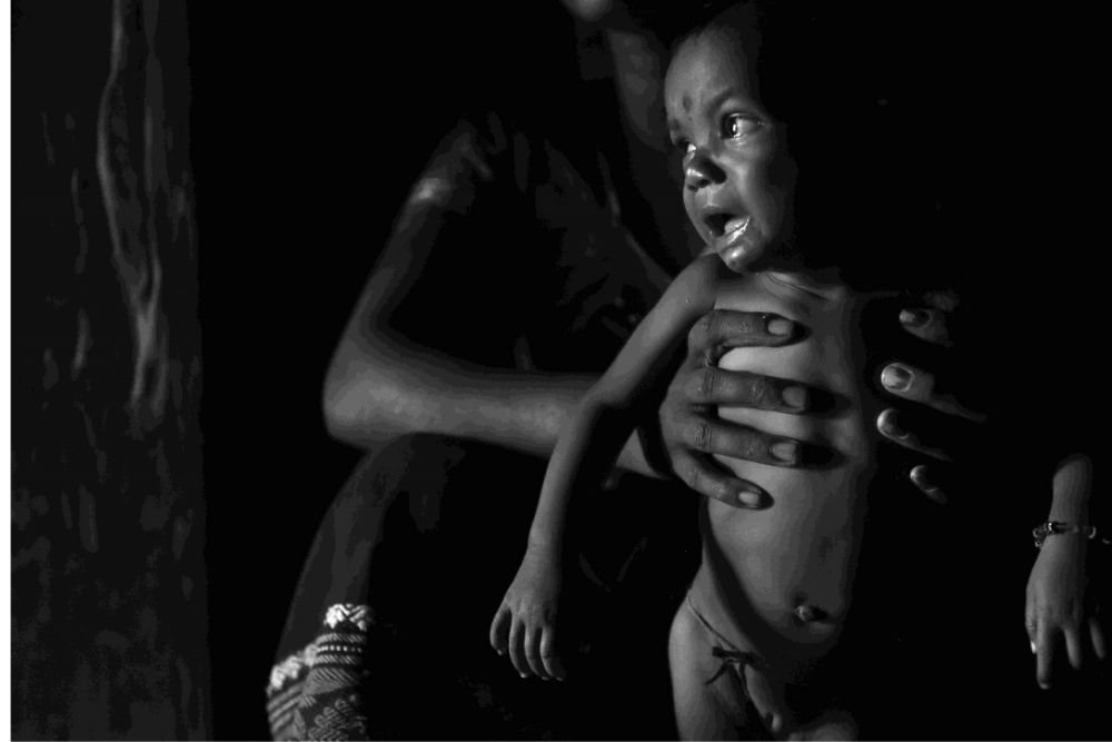 Hunger, In Black And White