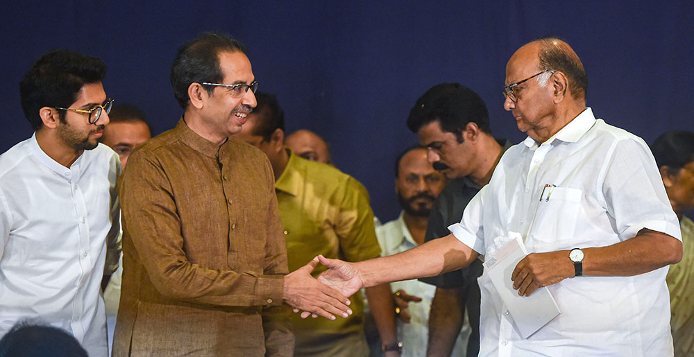 As COVID-19 Numbers Soar In Maharashtra, Will <em>Maha Vikas Aghadi</em> Govt Survive?