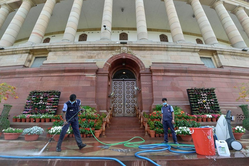 Parliament Complex Sanitised After Fourth Person Tests Positive For Covid-19