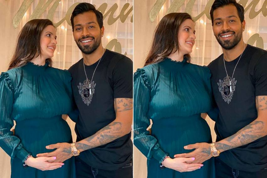 Hardik Pandya Announces Natasa Stankovic's Pregnancy In Cool Way, Congratulatory Messages Pour In - SEE