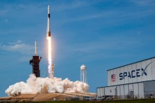 SpaceX Launch: NASA Astronauts Blast Into Orbit In First Mission By Private Firm