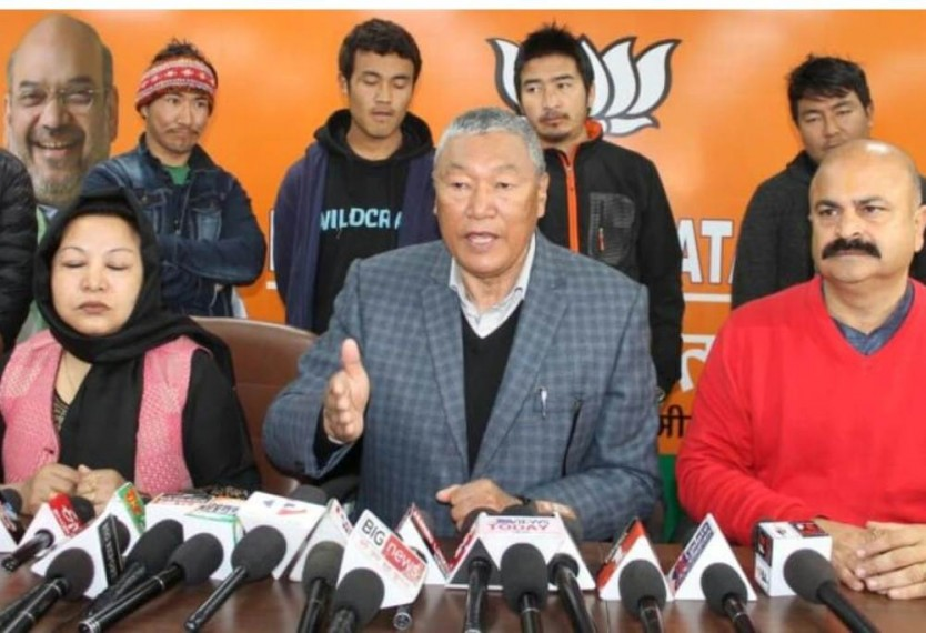 'Our Problems Don't Make Any Difference To Party': Ex-BJP Ladakh President