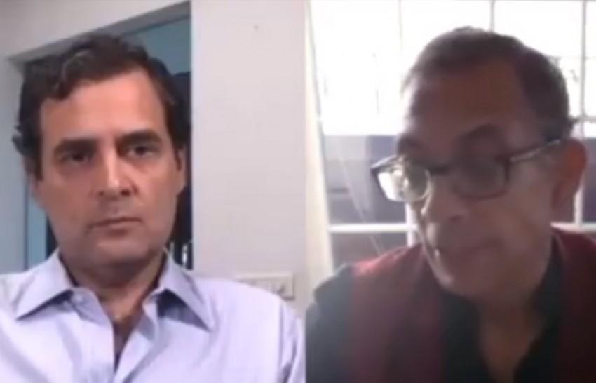 Putting Cash In Hands Of People Best Way To Boost Economy: Nobel laureate Abhijit Banerjee To Rahul Gandhi