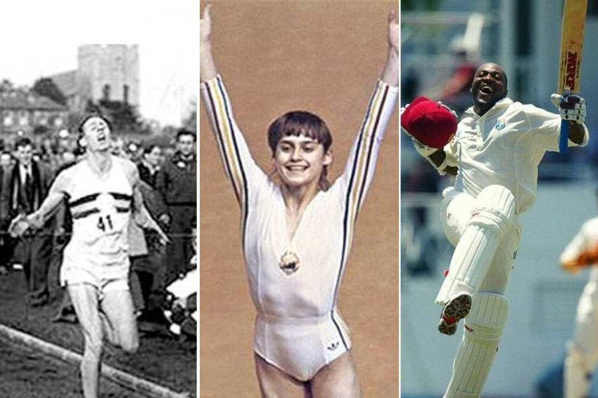 Roger Bannister's Mile, Nadia Comaneci's Perfect 10, Brian Lara's 400 - Landmark Feats In Sports