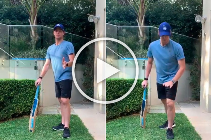 Batting Maestro Steve Smith Turns Mentor, Offers Tips To Fans - WATCH