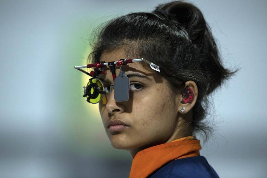 Manu Bhaker Gets Electronic Target Installed At Home In Place Of Manual Machine