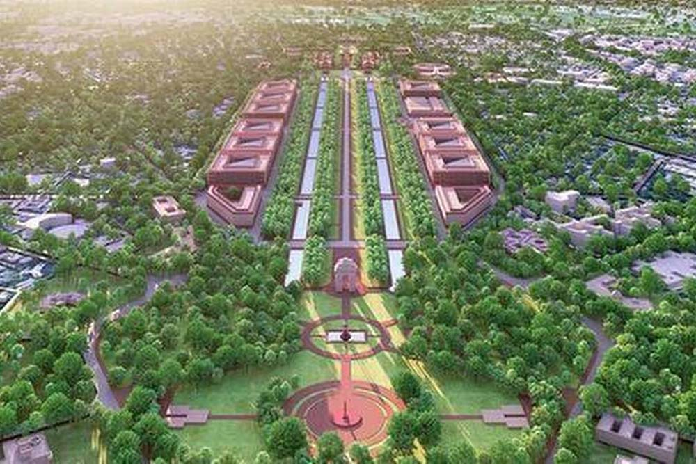 COVIDED! OMG, Modi Government Wants A Triangular Parliament House And Office Buildings Along Rajpath
