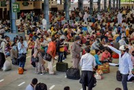 Over 700 Migrant Workers Protest At Mangaluru Railway Station, Demand To Be Sent Back Home