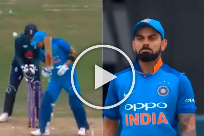 'The Best Ball You've Ever Faced,' England Cricket Teases Virat Kohli With Dismissal Video - WATCH