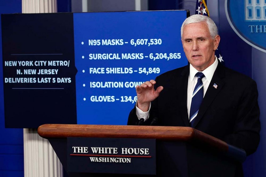 Mike Pence's Secretary Tests Positive For COVID-19, 2nd Case In White House In As Many Days