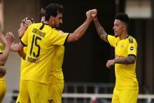 Jadon Sancho Breaks English, Bundesliga Records With Borussia Dortmund Hat-Trick
