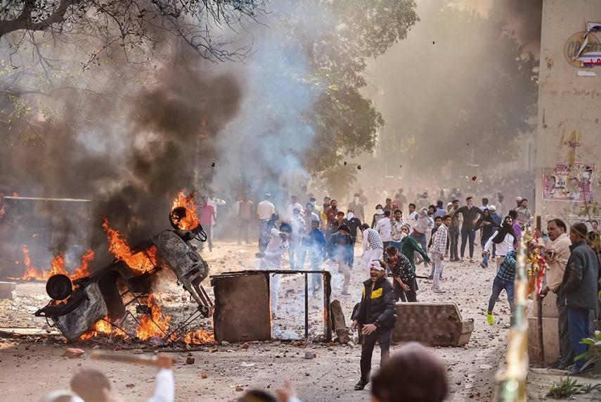 Delhi Riots: Arvind Kejriwal Aiding Long Arm Of Law To Shorten ...