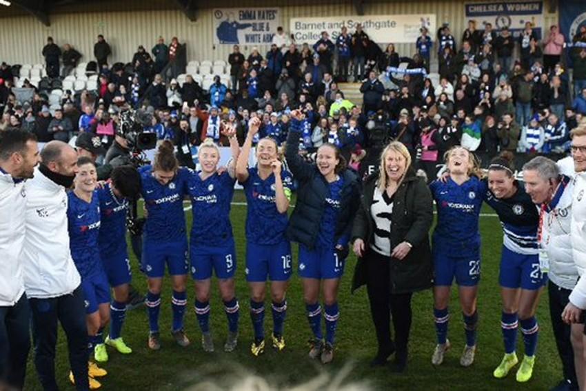 Chelsea Donate Women's Super League Winnings To Charity