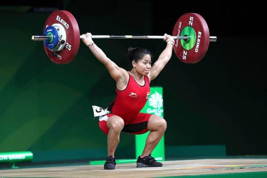 Indian Weightlifter Khumukcham Sanjita Chanu KreedOn