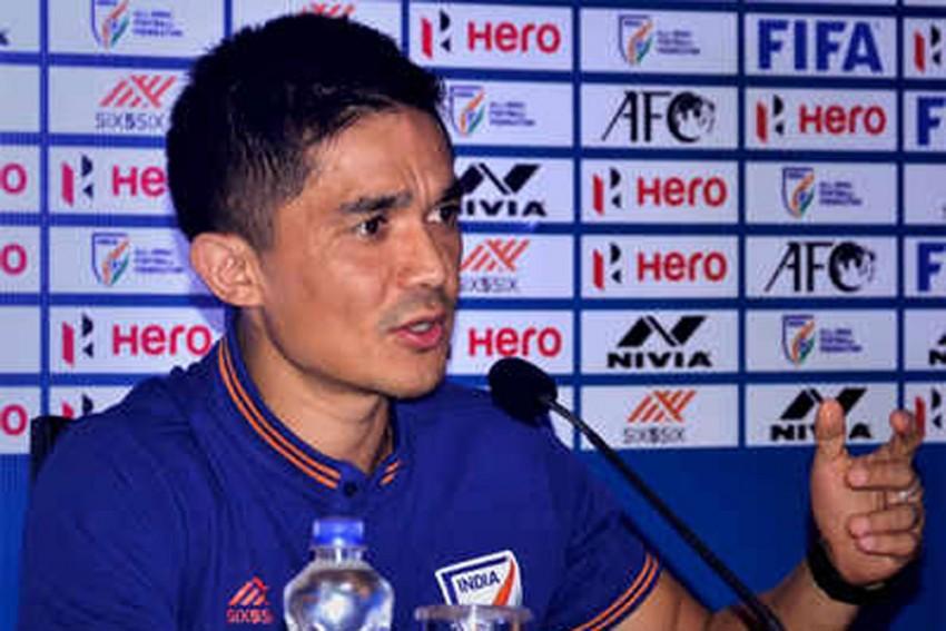 I'm Not Going Away Anytime Soon: India Captain Sunil Chhetri