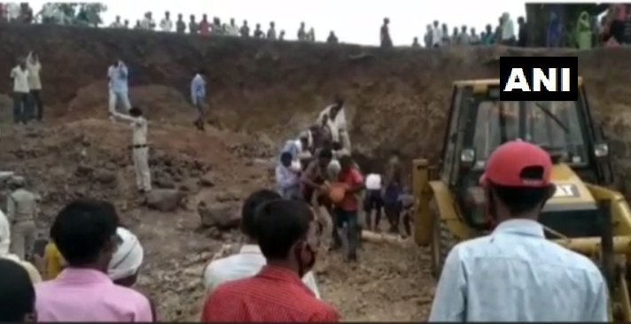 Madhya Pradesh: Five Labourers Killed As Mine Caves In